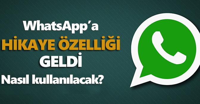 Whatsapp'da Yeni Durum Özelliği